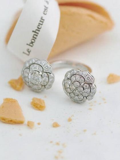杂志 女式 手饰 戒指图片5017710