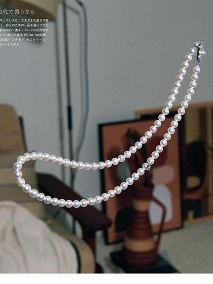 杂志 女式 颈饰 项链图片5017708