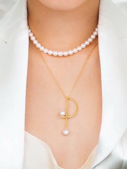 杂志 女式 颈饰 项链图片5017706