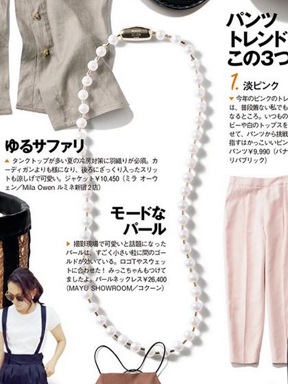 杂志 女式 颈饰 项链图片5017730