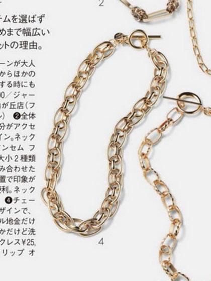 杂志 女式 颈饰 项链图片5186345