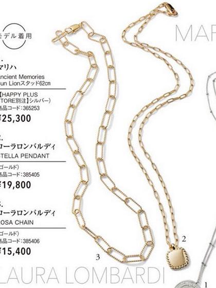 杂志 女式 颈饰 项链图片5186344