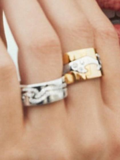 杂志 女式 手饰 戒指图片5190220