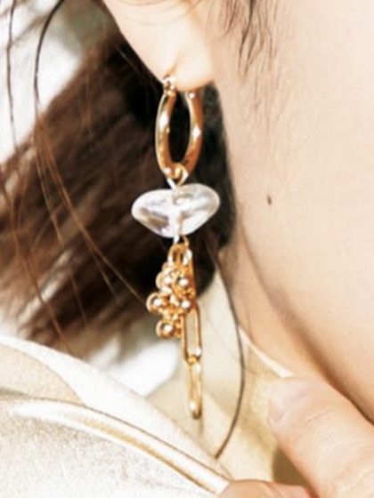 杂志 女式 耳饰 耳坠图片5190235