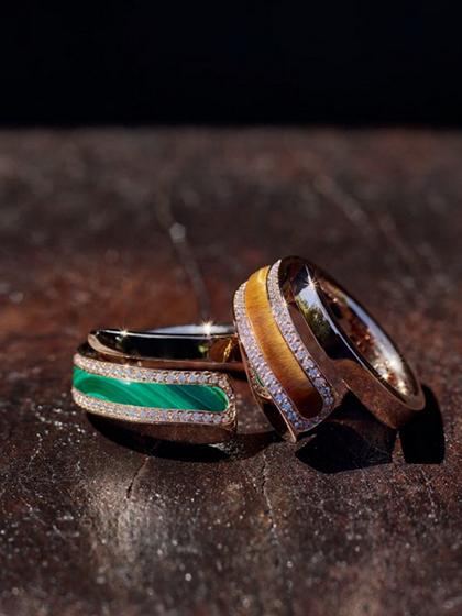 杂志 女式 手饰 戒指图片5190231