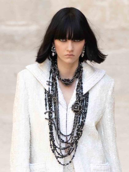 Chanel 发布会 女式 颈饰 毛衣链图片5149893