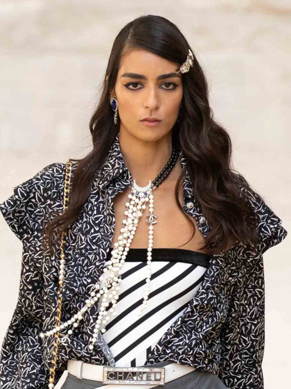 Chanel 发布会 女式 颈饰 毛衣链图片5149889