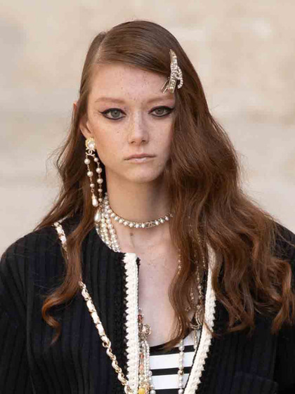 Chanel 发布会 女式 发饰 发夹图片5149883