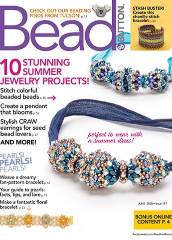 《Bead & Button》美國女性配飾專業雜誌2020年06月號